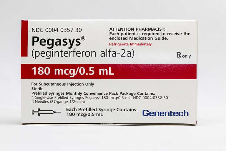Peginterferon alfa 2a (Pegasys)
