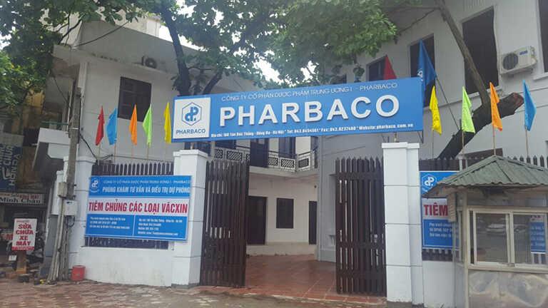 Phòng tiêm viêm gan B Pharbaco Hải Phòng