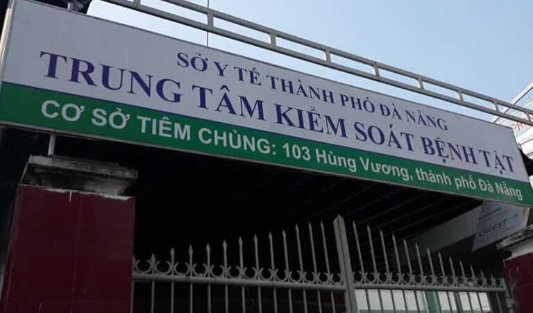 Trung tâm kiểm soát bệnh tật Đà Nẵng