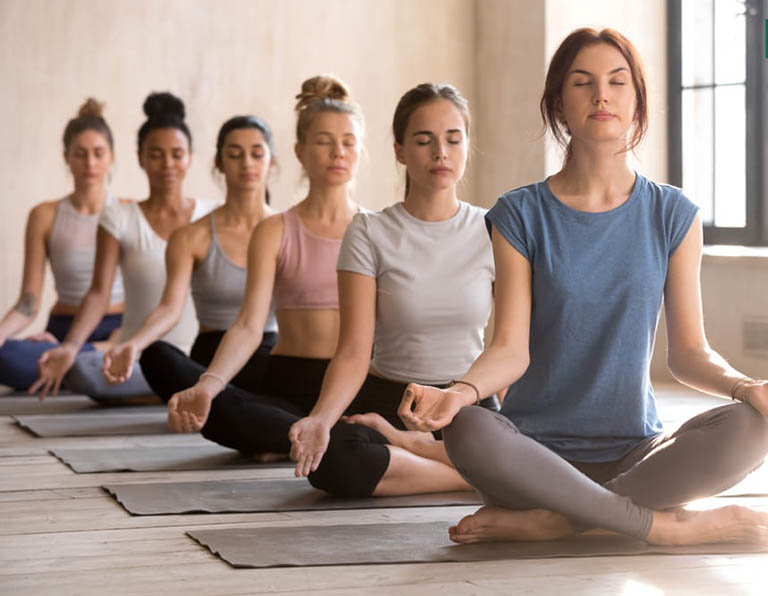 Tập yoga giúp hỗ trợ điều trị gan nhiễm mỡ hiệu quả